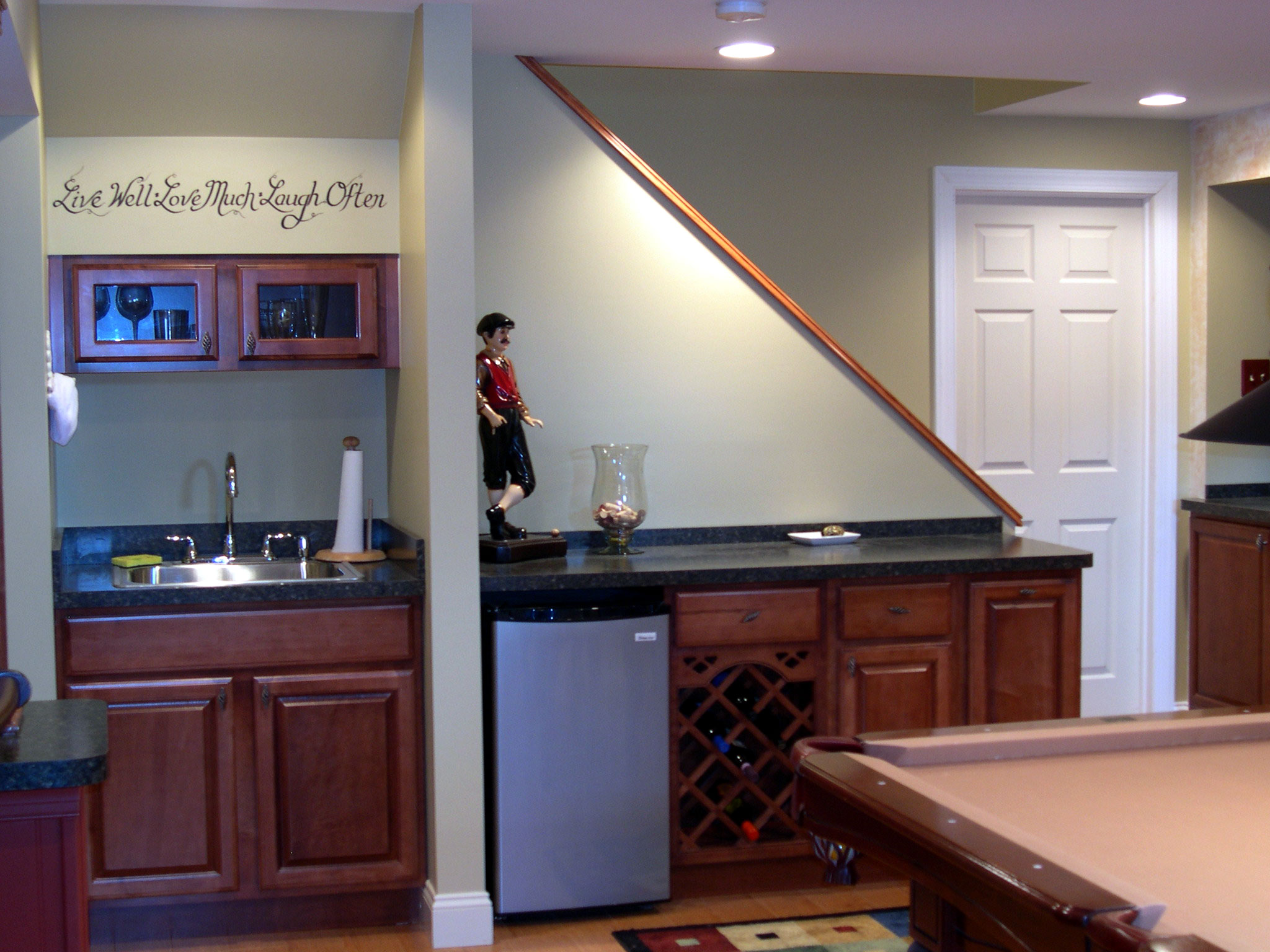 sbi professional basement remodeling. Black Bedroom Furniture Sets. Home Design Ideas
